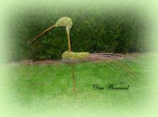 Een vogel maken uit berkentakken: stap voor stap met foto's