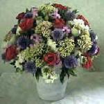 biedermeier, bloemstuk, maken, bloemstukje, bloemstukjes, gratis, cursus, bloemschikken, bloemen, kopen, knutselen, schikken, vaas, mand, opvullen