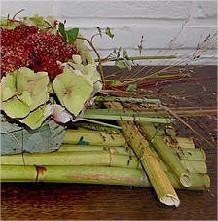zelf, bloemstukjes, maken, bloemschikken