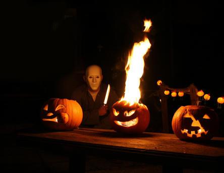 halloween, pompoenen, snijden, allerheiligen, feestdagen, pompoen, soorten, kerven, uithollen, monster