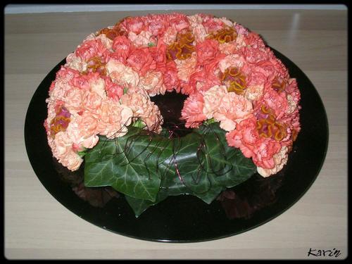 bloemstuk, halloween, maken, knutselen, haloween, bloemschikken, bloemstukjes, creatief, goedkoop