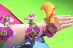 bloemen, sierraden, juwelen, maken, creatief, bloemschikken, draagbare bloemen, online cursus