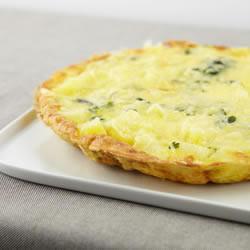 Frittata van aardappelen en groene kool, online recepten, kookboel, recepten met groene kool, recepten met savooikool, koolrecepten, frittata recpeten