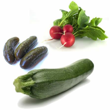 Gezonde groenten zaaien: zaaitips zelf lekkere groenten kweken zoals augurken, courgettes en radijzen