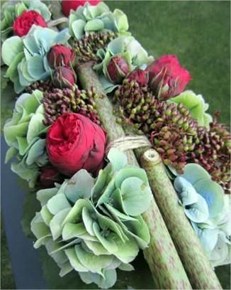 Feestelijk Bloemstuk, bloemstukje voor feest, bloemstuk maken, bloemen versieren, decoratieve bloemen