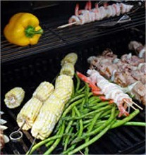 Groenten barbecue, barbecue tips, tips met groenten op de barbecue