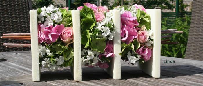 Zomers bloemstuk zonder recipi�nt, bloemschikken zonder schaal, bloemstuk -steekschuim -recipint -zomers -volzuigen -water -sheet -hetsteekschuim -bijhet -regel -gouden -dicht -ishet -toefjesrdquobinden -ldquoin -