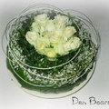 Moederdag met witte rozen