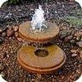 Bewegend water in de tuin