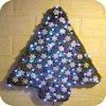Kerstboom uit mos