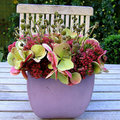 bloemstuk in herfsttinten