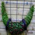 Guirlande zelf maken met hooi