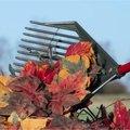 Multihark om te harken, zeven, scheppen, opruimen, rooien,... het onmisbare tuingereedschap