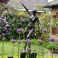 De tuin van de familie D' hollander te Rumst werd één van de vijf genomineerde tuinen in de eerste wedstrijdronde