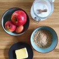 Bakken met notenmeel: appelcake