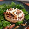 Koken met champignons Gevulde portobello