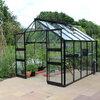 Tuinbouwglas of veiligheidsglas in de tuinkas of serre