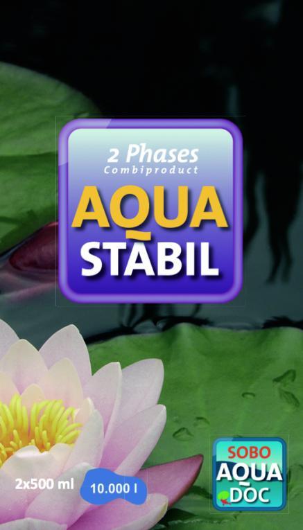 aquastabil om zuurstof in de vijver te houden