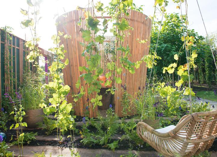 De harmonieuze tuin