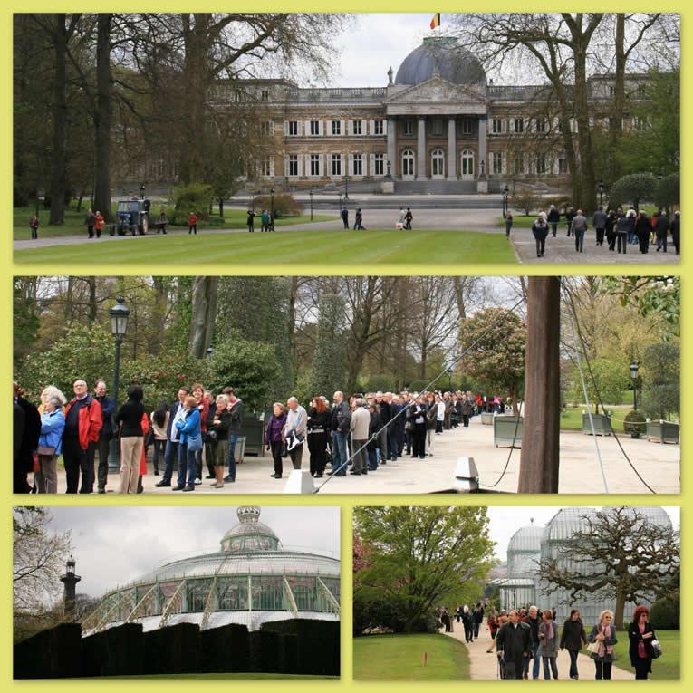 Tuinbezoek : De Koninklijke Serres in Laken