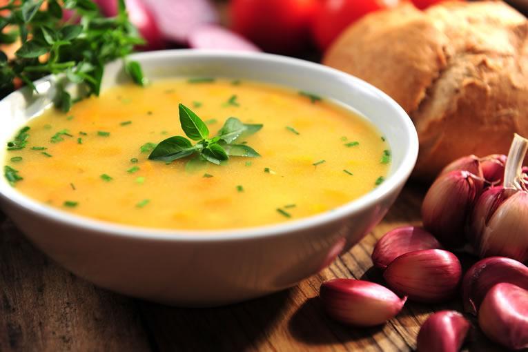 soep van pompoenen maken