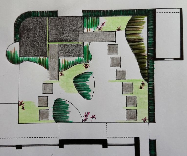 een ontwerp voor de tuin
