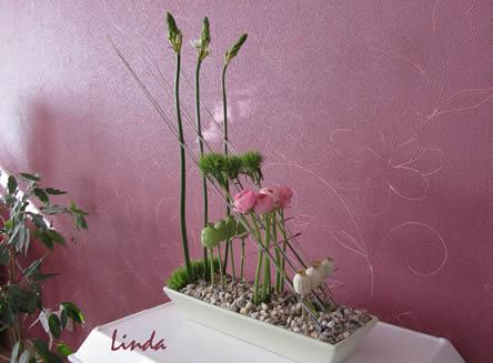 decoratief met bloemen