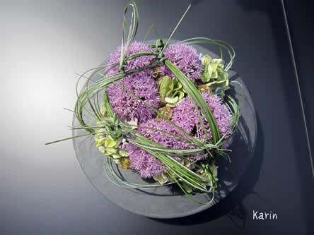 stap voor stap bloemschikken