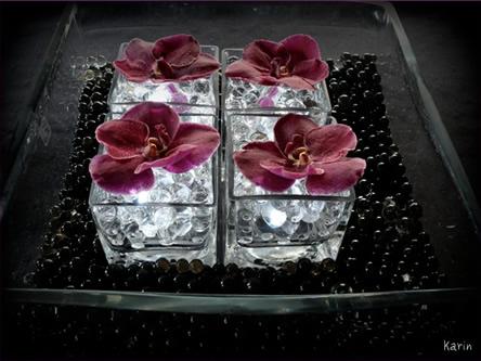 Bloemschikken bloemstuk maken met ledverlichting