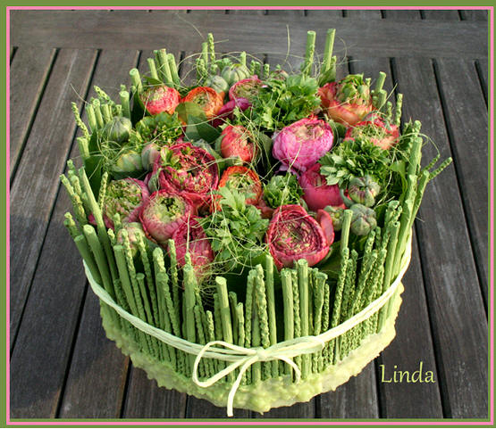 Moederdag bloemstuk maken