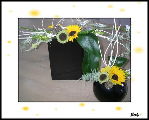 mooie bloemstukjes maken