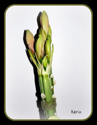 boeket bloemen binden voor in een vaas