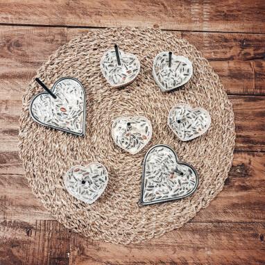 valentijn hartjes voor tuinvogels - tuinvogels voederen