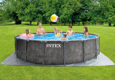Greywood zwembad Intex met pomp