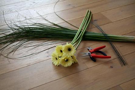<h1>materialen om te bloemschikken</H1>