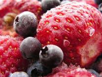 Fruit en groenten invriezen - Bevroren aardbei
