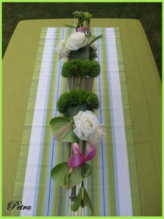 bloemstuk maken voor communie of lentefeest