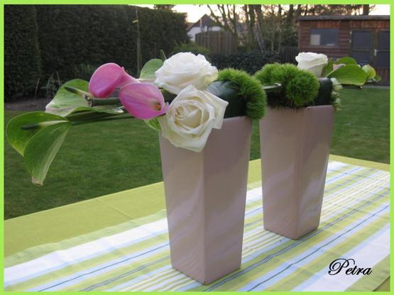 bloemschikken communie of lentefeest