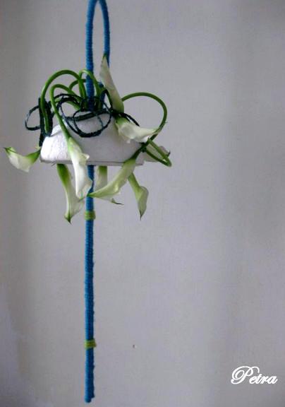 zelf bloemstukjes voor huwelijk maken