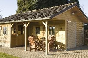 Een tuinhuis of garage, standaard of op maat! Bekijk ons aanbod hier...