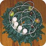 adventskrans maken met kaarsen en groen