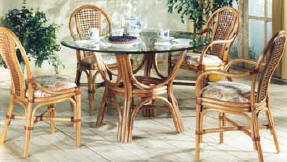 [Image towelling rattan furniture]