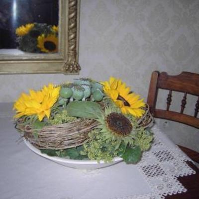 Nog zonnebloemen