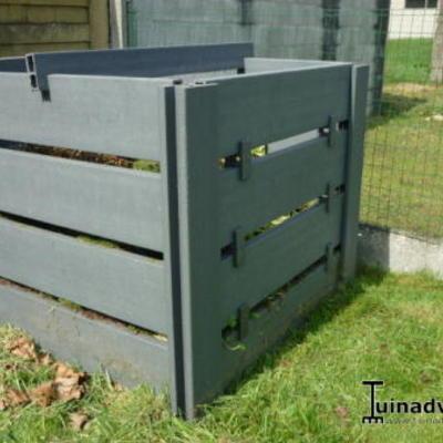 Waar compostbak kopen dat langs voor open kan