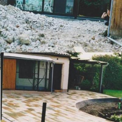 Betontegels versus natuursteen graniet