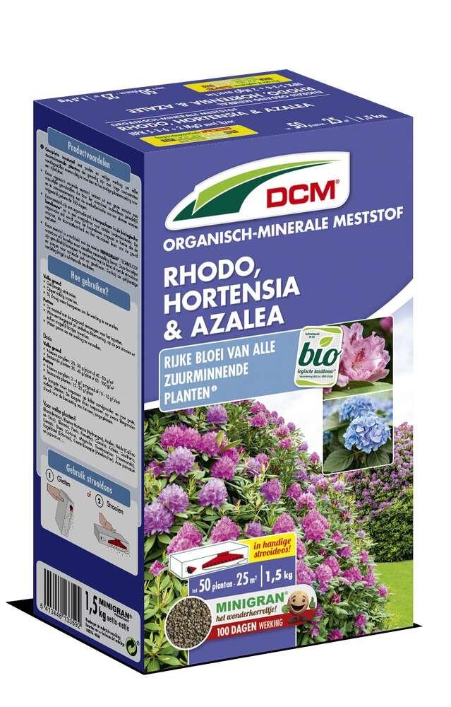 Meststof hortensia azalea rhododendron 15 kg