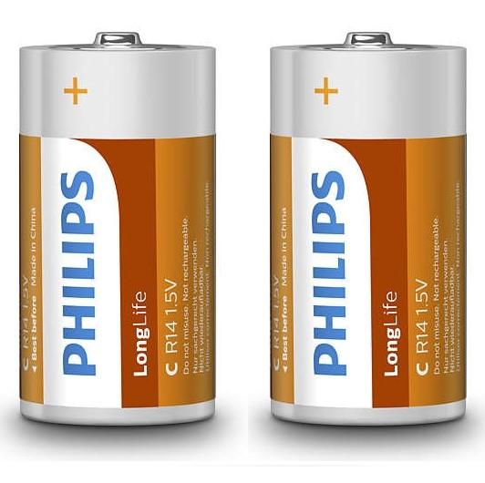 Batterijen C 15VPhilips