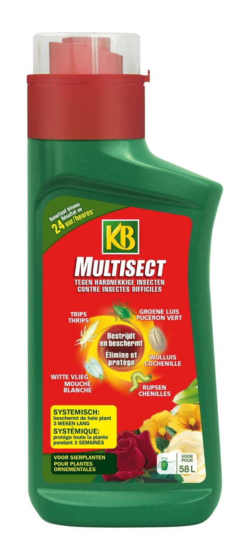 Insecticide tegen buxusmotrupsen luizen MULTISECT 350 ml
