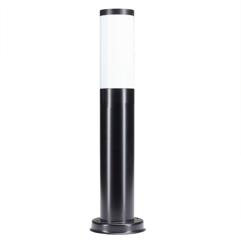 Tuinlamp Stilo laag zwart