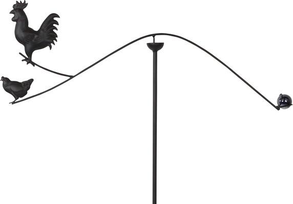 Pendel met kip zwart 68 x 114 cm